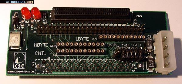 Необходимые для подключения SCSI-устройств переходники