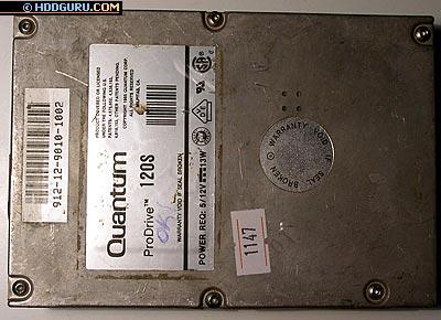 Первые образцы накопителей SCSI