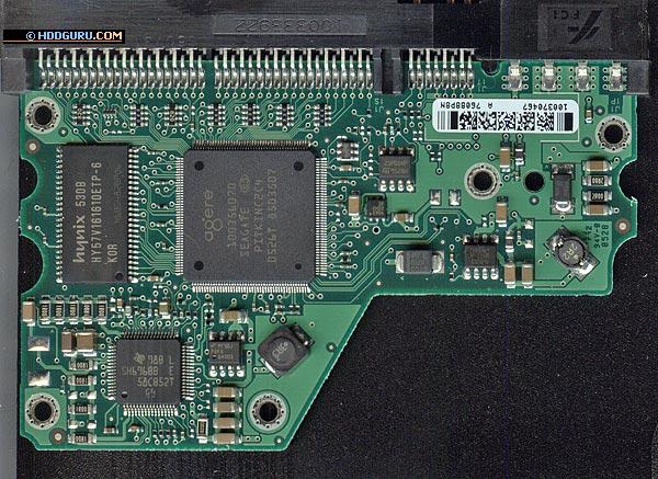 Плата электроники накопителей Barracuda 7200.9