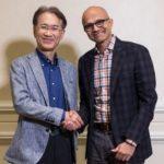 Microsoft объединился с  Sony в сфере видеоигр