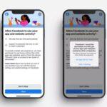 Facebook начала уведомлять пользователей iOS-устройств о сборе данных