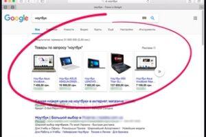настройка товарных объявлений Google Shopping